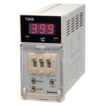 Autonics Controllers Temperature Controllers Alarm Output T3HS SERIES T3HS-B4RK4C-N (A1500000486)