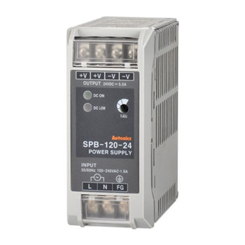 Autonics Controllers Power Supply Din-Rail SPB SERIES SPB-120-24 (A1200000022)