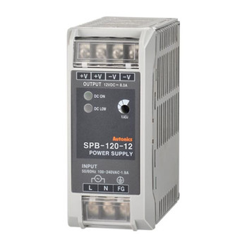 Autonics Controllers Power Supply Din-Rail SPB SERIES SPB-120-12 (A1200000023)