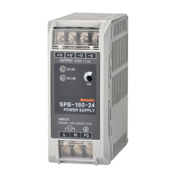 Autonics Controllers Power Supply Din-Rail SPB SERIES SPB-180-24 (A1200000034)