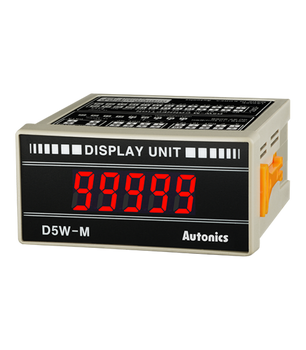Autonics Controllers Display Units Panel Mounting D5W SERIES D5W-M (A1400000019)