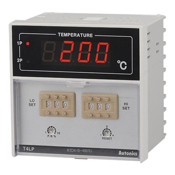 Autonics Controllers Temperature Controllers Dual Setting T4LP SERIES T4LP-B4RRFC-N (A1500000569)