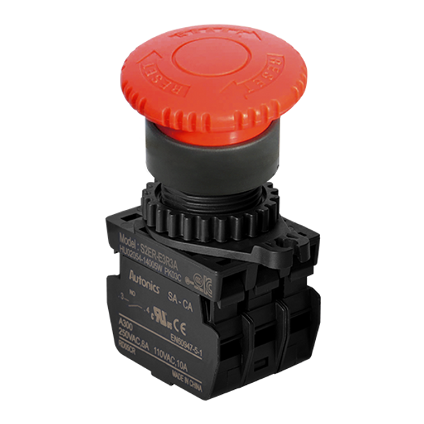 Emergency Switch S2ER-E3RA, S2ER-E3RA, Emergency Switch, autonics