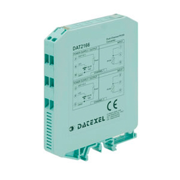 Datexel Temperature Transmitter None-Isolated Din Rail Mounting Type DAT 2166