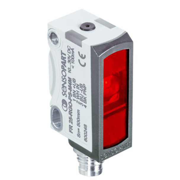 Sensopart Photo Electric Sensor Retro Reflective Light Barriers FR 25-RGO-PNSL-M4M (606-11052)