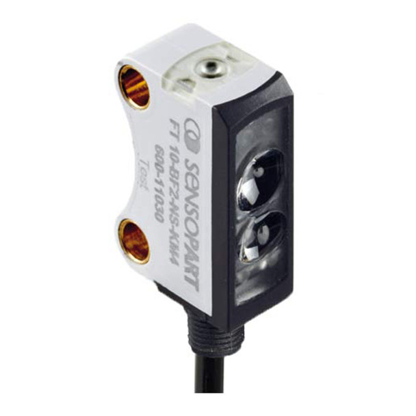 Sensopart Photo Electric Sensor Proximity Switches With Background Suppression FT 10-BF2-PS-KM4 (600-11027)