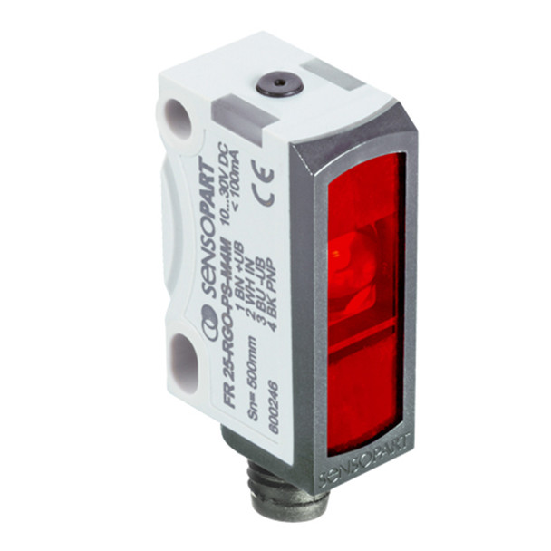 Sensopart Photo Electric Sensor Retro Reflective Light Barriers FR 25-RLO2-PNSL-KM4 (609-31023)