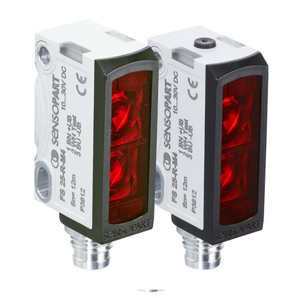 Sensopart Photo Electric Sensor Through Beam Sensors FS 25-R-L-M4M (605-11010)