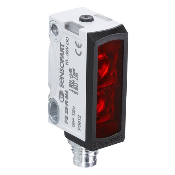 Sensopart Photo Electric Sensor Through Beam Sensors FE 25-R-PNSL-M4M (605-21019)