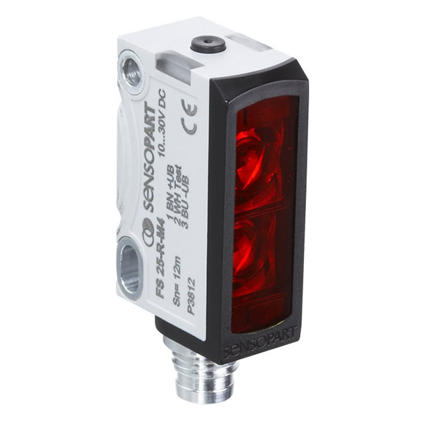 Sensopart Photo Electric Sensor Proximity Switches With Background Suppression FT 25-RHD-PNSL-M3M (608-11046)