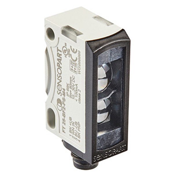 Sensopart Photo Electric Sensor Proximity Switches With Background Suppression FT 25-BF2-PS-M4 (608-11038)