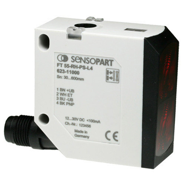 Sensopart Photo Electric Sensor Proximity Switches With Background Suppression FT 55-RLH2-NS-L4 (623-11007)