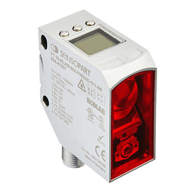 Sensopart Distance Sensors FT 55-RLAM-800-PNSUID-S1L8M (624-41007)