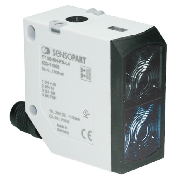 Sensopart Photo Electric Sensor Proximity Switches With Background Suppression FT 55-BH-PS-L4 (623-11036)