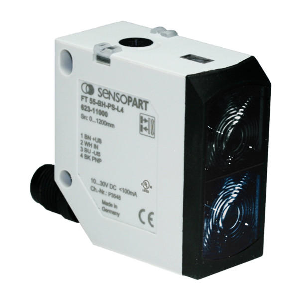 Sensopart Photo Electric Sensor Proximity Switches With Background Suppression FT 55-BH-NS-L4 (623-11037)