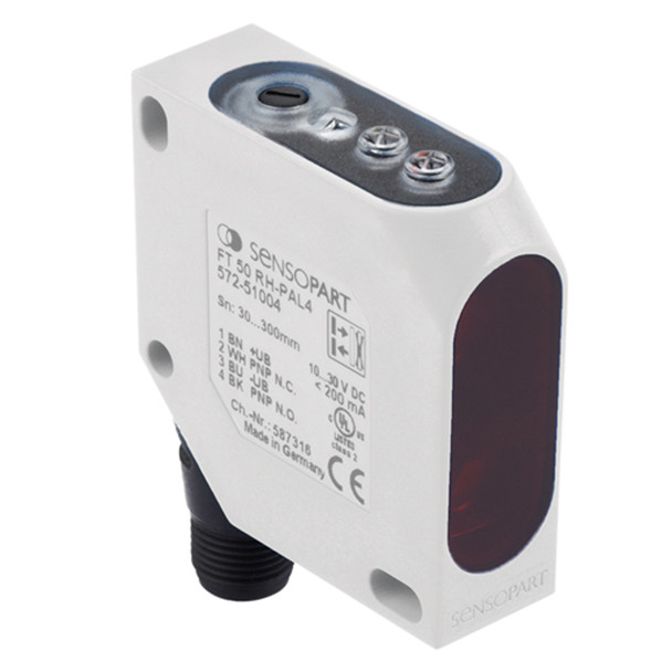 Sensopart Distance Sensors FT 50 RLA-20-S-K5 (574-41006)