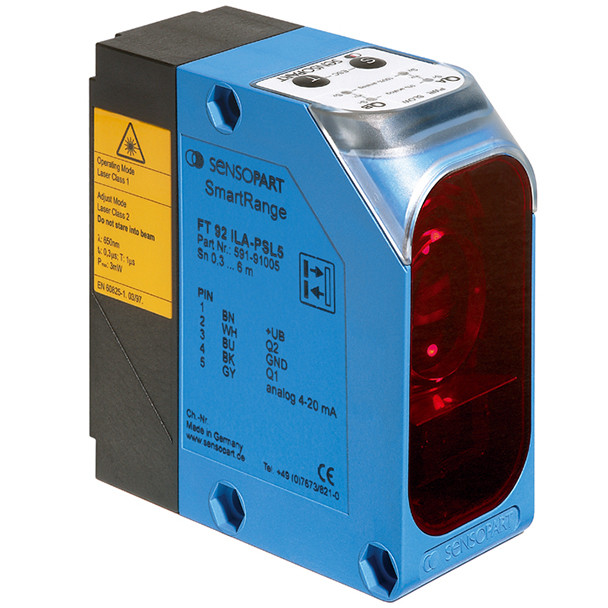 Sensopart Photo Electric Sensor Proximity Switches With Background Suppression FT 92 IL-NSL4 (591-91009)