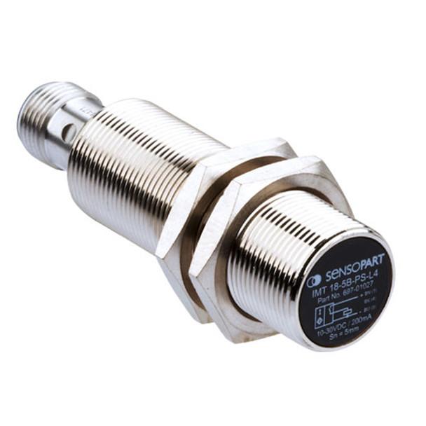 Sensopart Proximity Sensor Inductive Sensors IMT 18-5B-PS-L4 (697-01027)