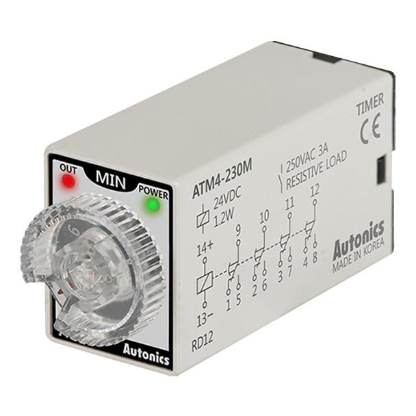 Autonics Controllers Timers ATM4-230M (A1050000183)