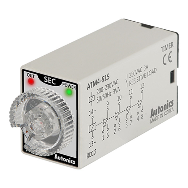 Autonics Controllers Timers ATM4-51S (A1050000186)