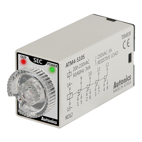 Autonics Controllers Timers ATM4-510S (A1050000188)