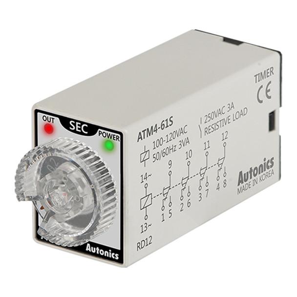 Autonics Controllers Timers ATM4-61S (A1050000197)