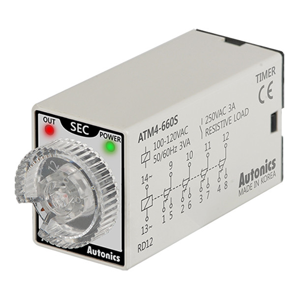 Autonics Controllers Timers ATM4-660S (A1050000201)