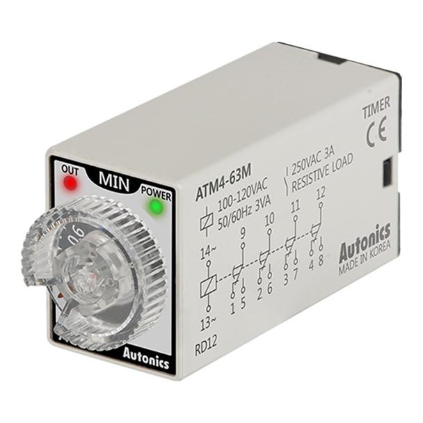 Autonics Controllers Timers ATM4-63M (A1050000202)