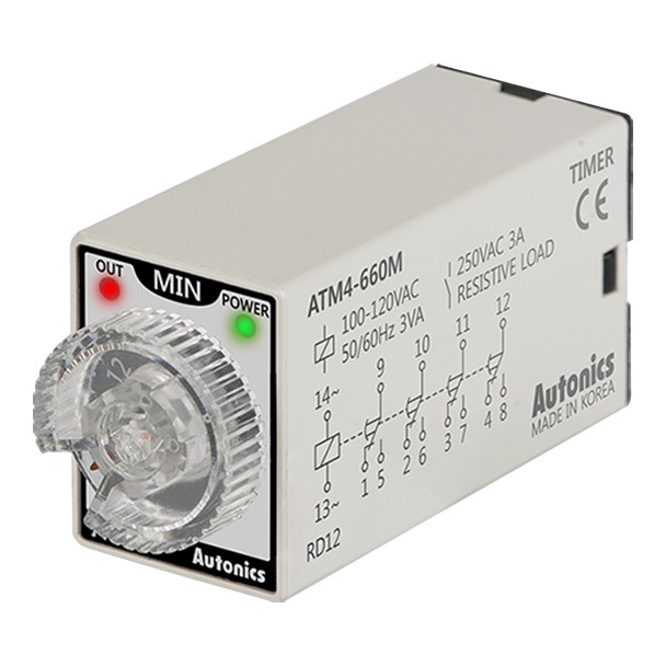 Autonics Controllers Timers ATM4-660M (A1050000206)