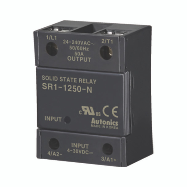 Autonics Solid State Relay ( SSR ) SR1 SERIES SR1-1250-N (A5850000290)