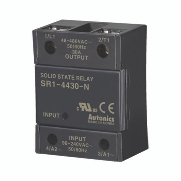 Autonics Solid State Relay ( SSR ) SR1 SERIES SR1-4430-N (A5850000317)