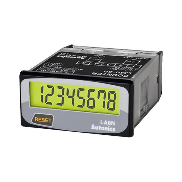 Autonics Controllers Counter & Timer Compact LCD Counter LA8N SERIES LA8N-BV-L (A1000000036)