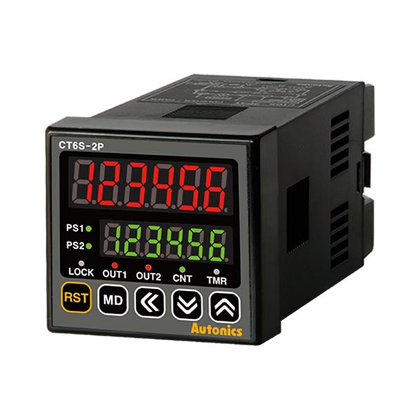 Autonics Controllers Counter & Timer Programmable CTS SERIES CT6S-2P2 (A1000000101)
