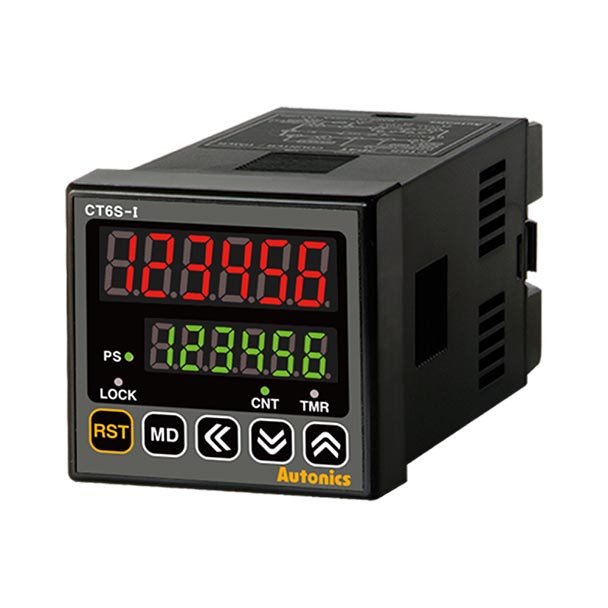Autonics Controllers Counter & Timer Programmable CTS SERIES CT6S-I2 (A1000000105)