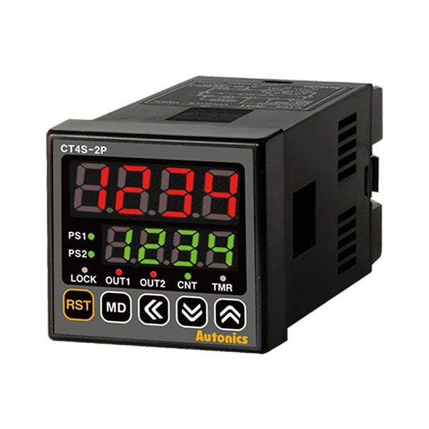 Autonics Controllers Counter & Timer Programmable CTS SERIES CT4S-2P2 (A1000000116)