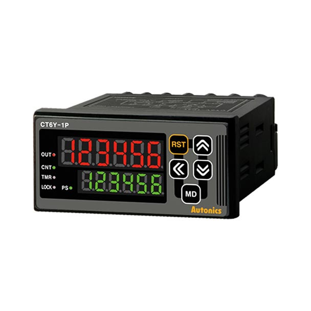 Autonics Controllers Counter & Timer Programmable CTY SERIES CT6Y-1P4 (A1000000124)