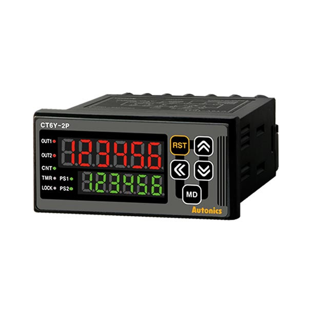 Autonics Controllers Counter & Timer Programmable CTY SERIES CT6Y-2P2 (A1000000132)