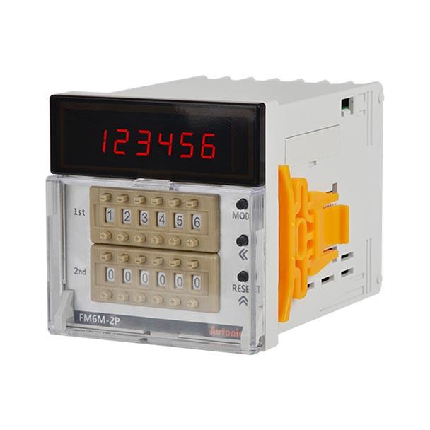 Autonics Controllers Counter & Timer Measure Counter FM SERIES FM6M-2P4 (A1000000148)