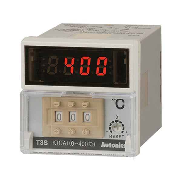 Autonics Controllers Temperature Controllers Digital Switch T3S SERIES T3S-B4RK8C-N (A1500000278)