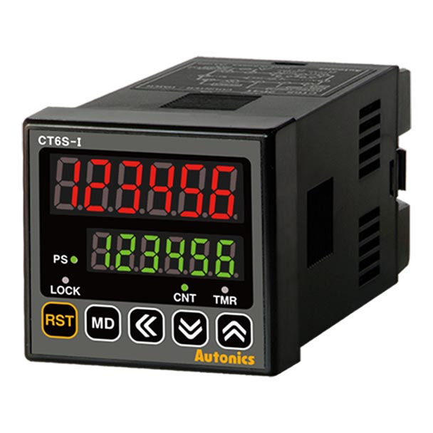 Autonics Controllers Counter & Timer Programmable CTS SERIES CT6S-I2T (A1000001258)