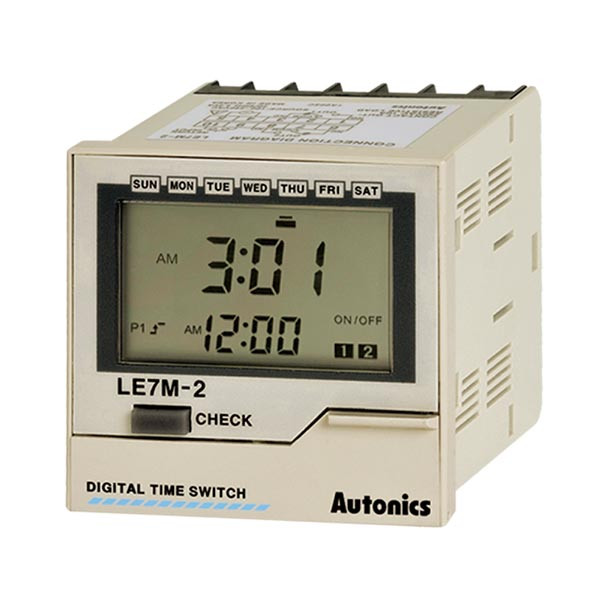 Autonics Controllers Counter & Timer Weekly Timer LE7M SERIES LE7M-2 (A1050000163)