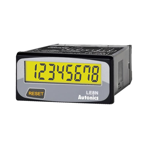 Autonics Controllers Counter & Timer Compact LCD Timer LE8N SERIES LE8N-BV-L (A1050000171)