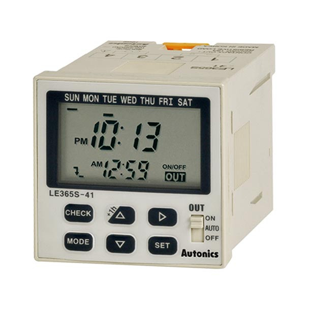 Autonics Controllers Counter & Timer Weekly Timer LE365S SERIES LE365S-41 (A1050000173)