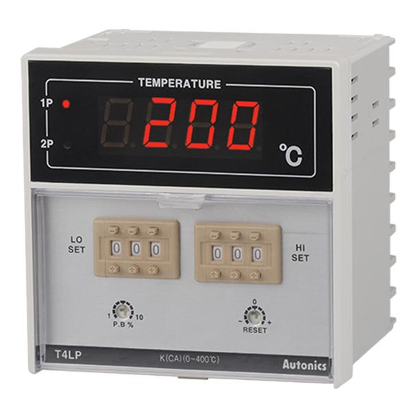 Autonics Controllers Temperature Controllers Dual Setting T4LP SERIES T4LP-B4CRFC-N (A1500000573)