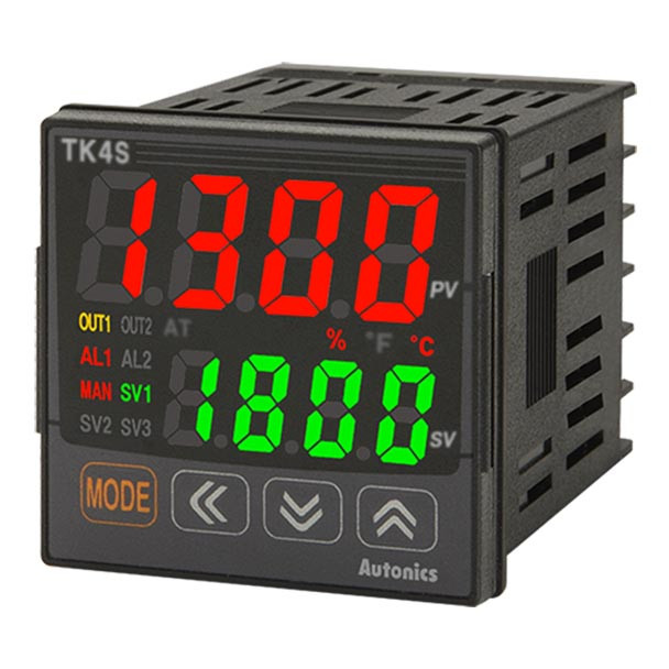 Autonics Controllers Temperature Controllers TK4S SERIES TK4S-T2CR (A1500001271)