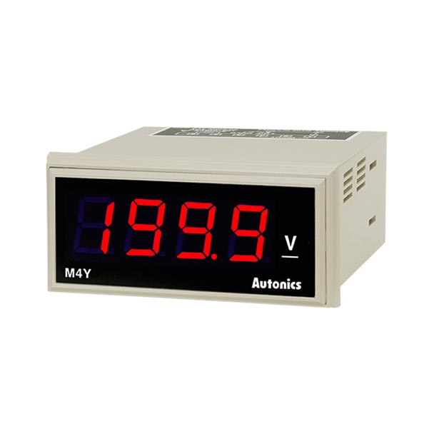 Autonics Controllers Panel Meters M4Y SERIES M4Y-DV-4 (A1550000036)