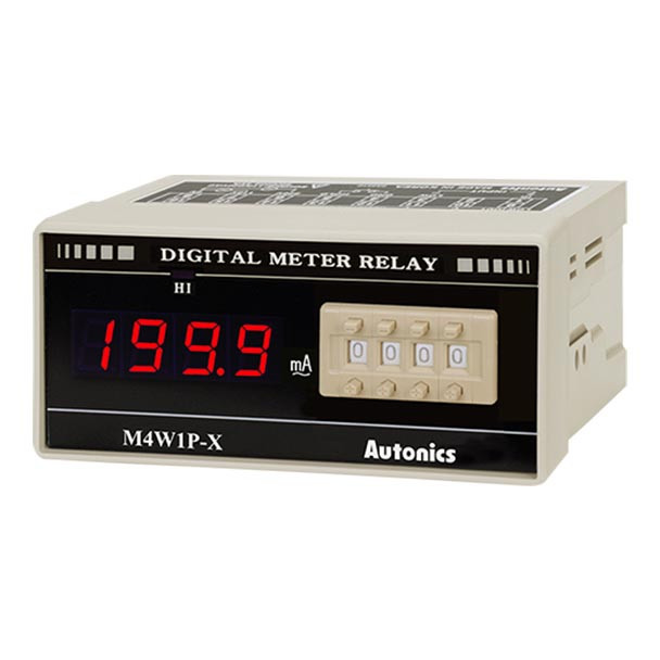 Autonics Controllers Panel Meters M4W1P SERIES M4W1P-AA-2 (A1550000191)