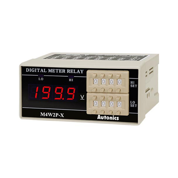 Autonics Controllers Panel Meters M4W2P SERIES M4W2P-DV-4 (A1550000222)