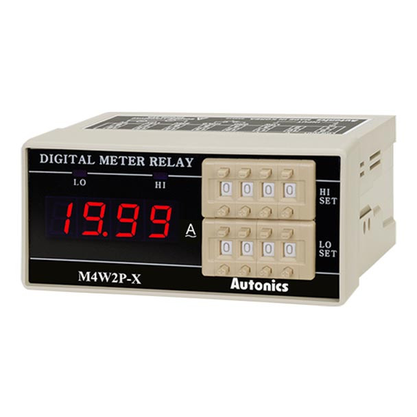 Autonics Controllers Panel Meters M4W2P SERIES M4W2P-AA-4 (A1550000250)