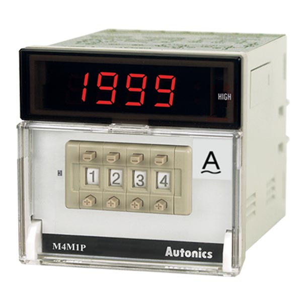 Autonics Controllers Panel Meters M4M1P SERIES M4M1P-AAR-XX (A1550000294)